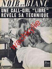 Noir et blanc n°1249 du 06/03/1969 Prostitution Mick Micheyl Janbrun