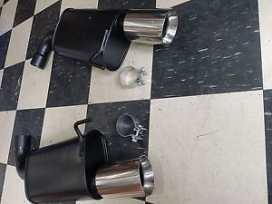 Mustang 2015-2017 Axle-Back Exhaust System
