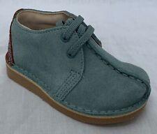 BNIB Clarks Originals Desert Trek Light Blue Suede First Shoes