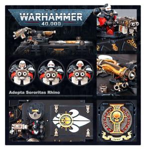 Adepta Sororitas Rhino Transport Warhammer 40k New On Sprue