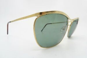 Vintage 50s gold filled Sol Amor sunglasses mens medium made in France SUPERB