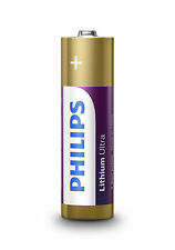 Philips Ultra Lithium AA Lr6 Battery - Pack of 4 1st Class