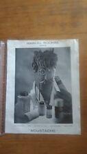 PUBLICITE ANCIENNE PUB ADVERT - PARFUM MARCEL ROCHAS - MOUSTACHES 1