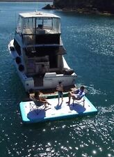 Inflatable Pontoon Drift AIR-DOCK 4mx2m Floating Water Pad For Boat / Beach