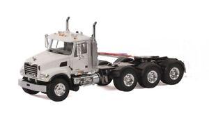 """Mack Granite 8x4 Truck Tractor - """"WHITE"""" - 1/50 - WSI"""