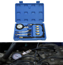 Pro Petrol Gas Auto Engine Cylinder / Compression Diagnostic Tester Gauge Kit US