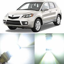 Alla Lighting Front Turn Signal Light 1157NA White LED Bulbs for 07~12 Acura RDX