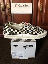 Vans Vault Checkerboard OG Era LX Size 11 Mens Checkered Black White