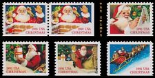 Holiday 1991 Christmas 2580-85 2581a 2585 Set of 6 Booklet Stamps MNH - Buy Now