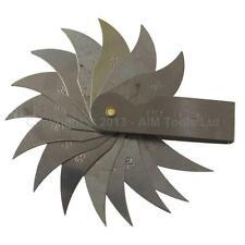 40110810 Ingegneri Metallo Calibro Di Raggio R26-80MM Pieghevole Lama