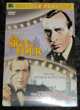 Double Feature DVD The Sign of Four Triumph of Sherlock Holmes Arthur Wontner