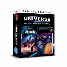CURIOSITY DID GOD CREATE THE UNIVERSE - WITH STEPHEN HAWKING DVD & LITTLE BOOK