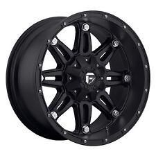 CPP Fuel Off Road D531 Hostage wheels rims, 17x9, 5x135mm & 5x5.5, -12mm,  black