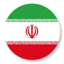 "Pin Button Badge Ø25mm 1"" Drapeau Flag Maillot Echarpe Iran Ir Téhéran"