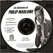 ADVENTURES OF PHILIP MARLOWE - 126 Shows Old Time Radio In MP3 Format OTR 3 CDs