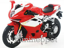 MAISTO 2012 12 MV AGUSTA F4 RR BIKE MOTORCYCLE 1/12 RED WHITE 11098