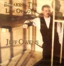 JEFF OWENS - BREAKING THE LAW OF LOVE - CD, 1996