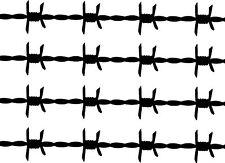 Barbed Wire Car,Land Rover Van 4x4 Sticker Decals ~1