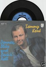 TOMMY KENT Donner, Blitz und Rock'n Roll 45/GER/PIC
