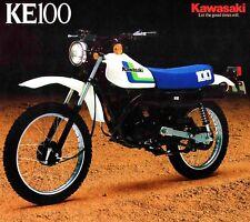 1987 KAWASAKI KE100 BROCHURE--KAWASAKI KE100-B6