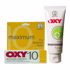 New Acne Pimple Treatment OXY 10 Benzoyl Peroxide 25g + Oxy Acne Wash 80g