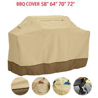 "Barbecue Gas BBQ Grill Cover Waterproof Patio Garden Protection 58""64"" 70"" 72"""
