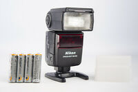 Nikon SB-600 Speedlight AF Shoe Mount Flash with Diffuser & Fresh Batteries V10