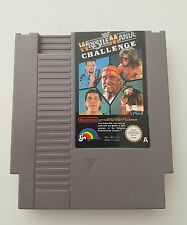 WF WRESTLE MANIA CHALLENGE Nintendo Entertainment System NES GAME FREE POST snes
