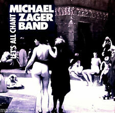 """12"""" - MICHAEL ZAGER BAND - LET´S ALL CHANT (DANCE) SPANISH PRESS.1988 LISTEN"""