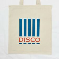 TESCO DISCO BAG FOR LIFE RAVE FESTIVAL TOTE CANVAS BAG