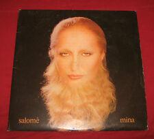 """MINA dLp """" SALOME' """" PDU-PLD L 7026/27 / Gatefold+Poster"""