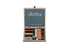 Cretacolor 25 Piece Passion Wood Box Set