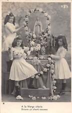 A la Vierge cherie Disons un chant nouveau flowers fleurs girls filles