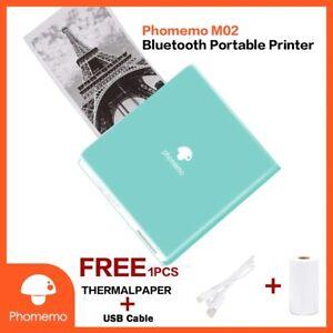 Portable Bluetooth PAPERANG Phomemo  Mini Photo Printer Sticker Pocket Sticker