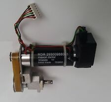 Maxon RE25 24V DC servo motor with 2.8:1 belt transmission + HEDS-5540 encoder