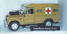 OXFORD CARARAMA LAND ROVER SERIES III 109 ARMY MEDICAL CORP SOFT TOP 1:43 MEDIC
