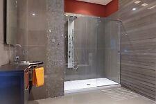 Anti-slip Shower in + Medium White + anti Slip Mat Dots Protection Stripes