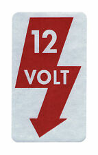 New VW Type 3 12 Volt Body Decal 1967-1973