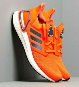 MENS ADIDAS ULTRABOOST 20 NASA SPACE RACE SOLAR RED BLUE RUNNING ATHLETIC SHOES