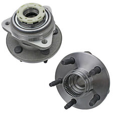 2 Front OE Wheel Hub Bearing for Ford Ranger Mazda B3000 B4000 with Rear ABS 4WD