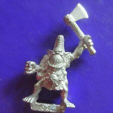 orc boyz with axe citadel gw games workshop 1998 catalogue classic boys #A