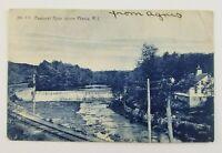 Postcard Pawtuxet River Dam Phenix Rhode Island 1907