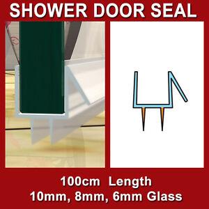 5x SHOWER SCREEN DOOR PLASTIC STOP WATER SEAL STRIP 10MM 8MM 6MM 5MM U-SHAPE