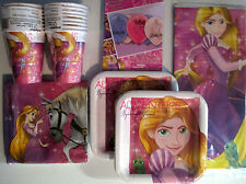 RAPUNZEL : Dream Big - Birthday Party Supply Kit Pack for 16 w/Balloons