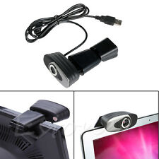 USB 2.0 Clip-on Webcam Camera HD 12 Megapixels with Microphone MIC for Laptop PC