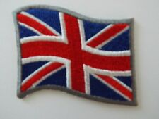 Union Jack Scooter Biker Embroidered Patch Patriotic UK