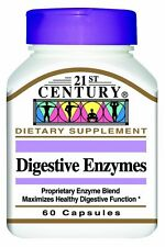 21st Century Digestive Enzymes Capsules, 60 Count