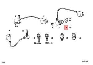 Genuine BMW E31 E32 E34 E38 530i 540i 730i 730iL Intermediate Plate 12141733000