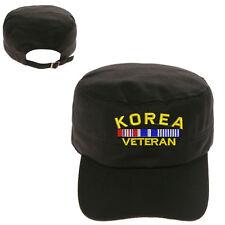 KOREA VETERAN MILITARY CADET ARMY CAP HAT HUNTER CASTRO