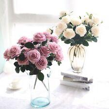 5pcs Garland Home Garden Room Decoration Bridal Bouquet Wedding Fake Flowers·